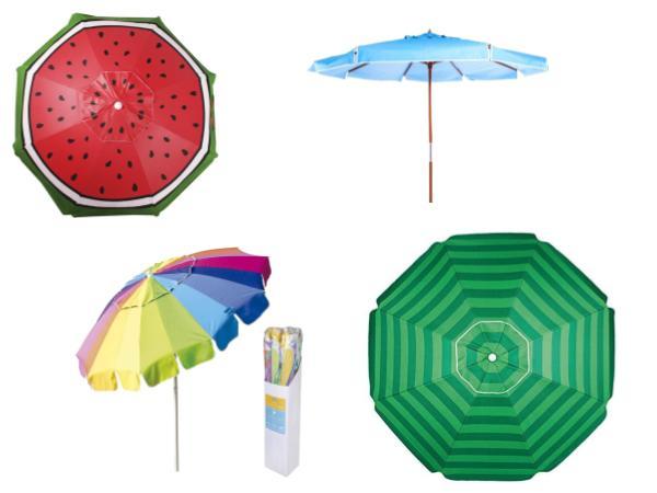 Os Melhores e Mais Eficientes Guarda-Sóis / Ombrelones Verão 2021