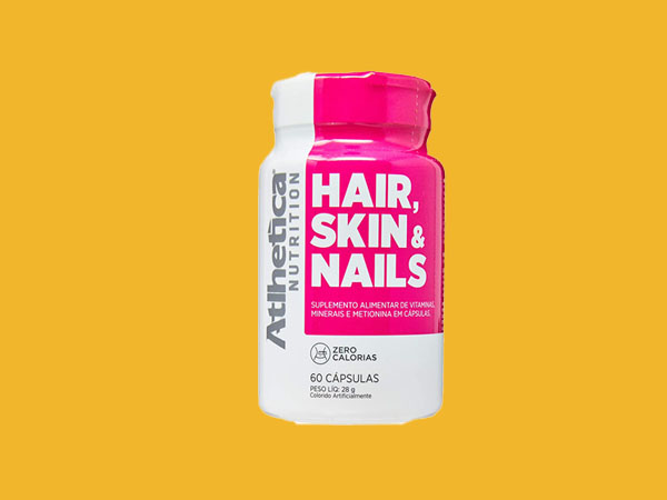 Melhores Vitaminas para Cabelos, Pele e Unhas - Hair, Skin and Nails