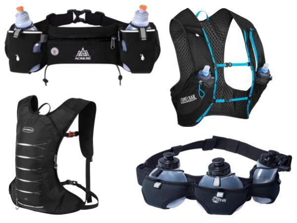 As Melhores Mochilas e Pochetes de Hidratação Para: Corrida de Rua,Triathlon, Maratona, etc