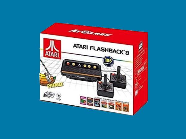 Os Melhores Consoles de Atari Flashback