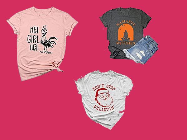 Camisetas Femininas Mais Criativas e Divertidas