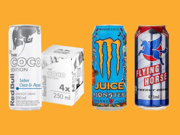 Ranking das Bebidas Energéticas de 2020