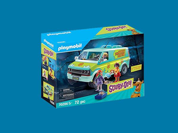 Playmobil da Turma do Scooby-doo