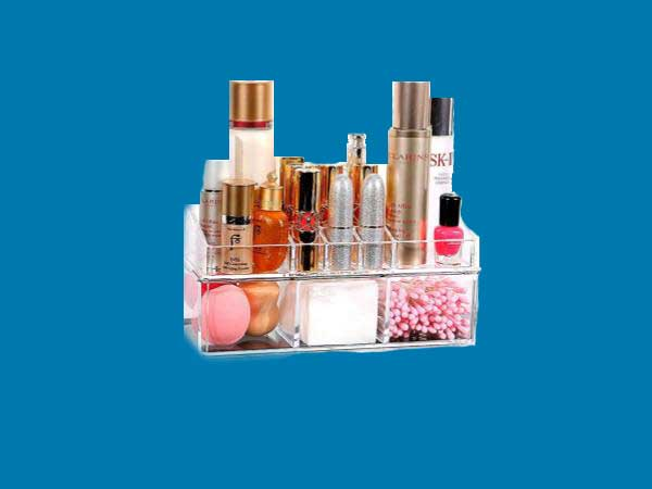 Os Melhores Organizadores de Acrílico Para Maquiagem e Cosméticos
