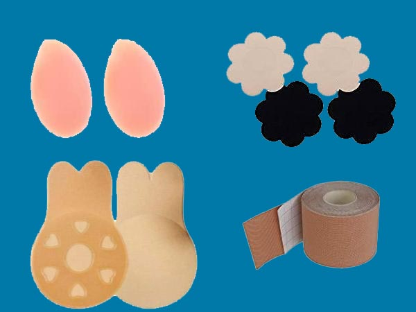 Adesivos Mais Eficientes e Confortáveis para Proteger os Mamilos e Sustentar Seios (Efeito Push Up)
