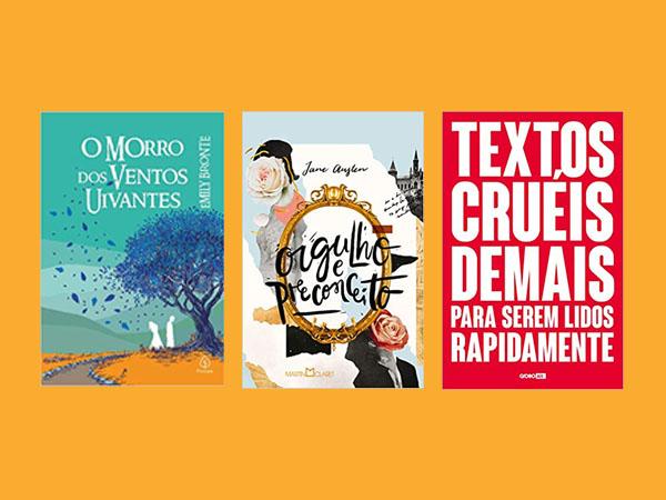 Livros de Romance mais presenteadas na Amazon