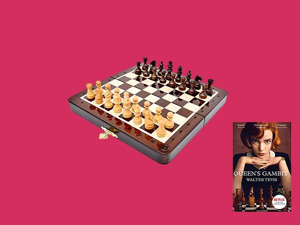Dicas de produtos de Xadrez pra entrar na onda do The Queen's Gambit