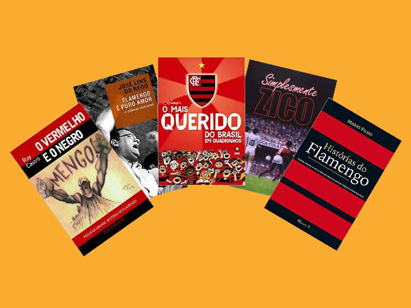 10 Melhores Livros sobre o Flamengo para dar de Presente