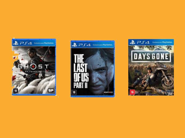Os Games mais Vendidos para PlayStation em 2020