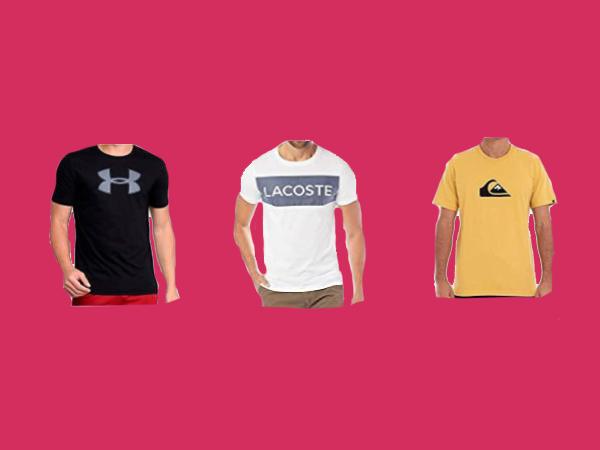 Melhores Camisetas de Marca Masculina Para Presente de Natal 2020